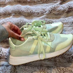 Mint adidas shoes